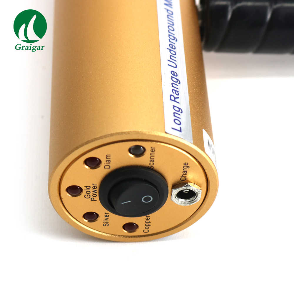 Détecteur de métaux AKS 2019 nouvelle Version chasseur de trésors détecteur de recherche d'or