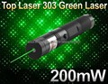 10PCS/LOT New Hot selling Laser 303 Strong Power Green laser pointer burning Matches lazer with safe key