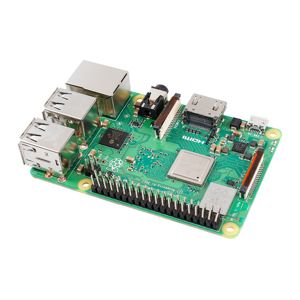 Image 4 - SunFounder Raspberry Pi 3 Model B+ Quad Core 1.4GHz 64bit CPU Third Generation Raspberry Pi 3B+-in Demo Board from Computer & Office