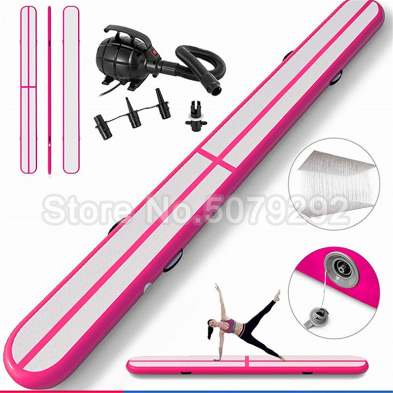 Good Quality Inflatable Balance Beam For Gymnastics 3m*0.4m*0.2m Inflatable Beam For Training Mini Size Air Track Mats With Pump