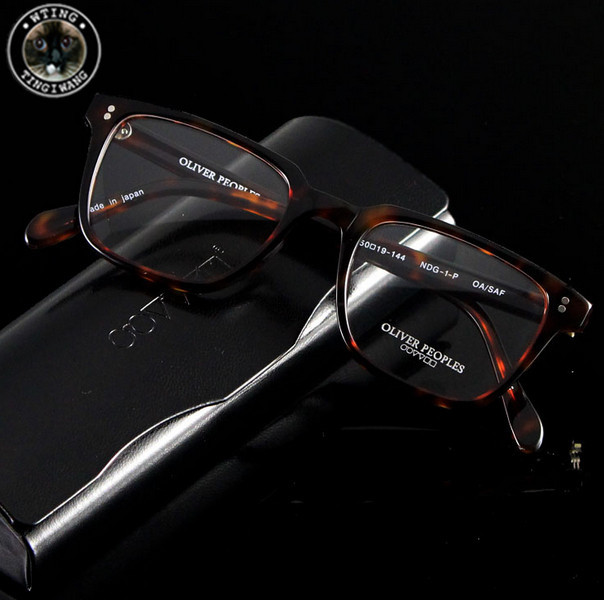 new brand oliver discount designer eyewear optical myopia eyeglasses frame computer glasses clear lens oculos de