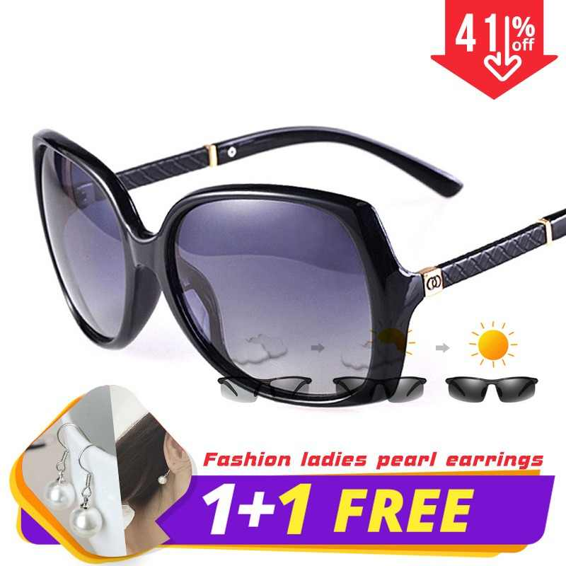 29b95e7a592b LIOUMO Luxury Brand women Polarized UV400 Sunglasses For Women vintage  Glass Female Original Famous Sun Glasses