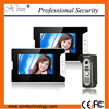 Good Quality Wall Mounted 2 Monitor Doorbell Night Vision Camera 7 TFT Color Screen Waterproof Outdoor