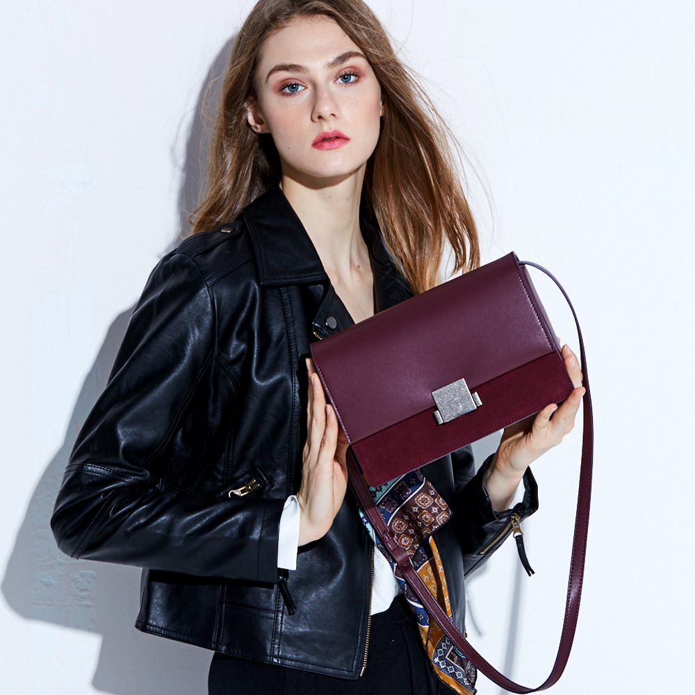 New 2018 Brand Genuine Leather Women Messenger Bag Fashion Shoulder Bag High Quality Flap Bag Casual Crossbody Bag suds brand genuine leather 2018 fashion women small shoulder bag high quality cow leather women messenger bag crossbody flap bag
