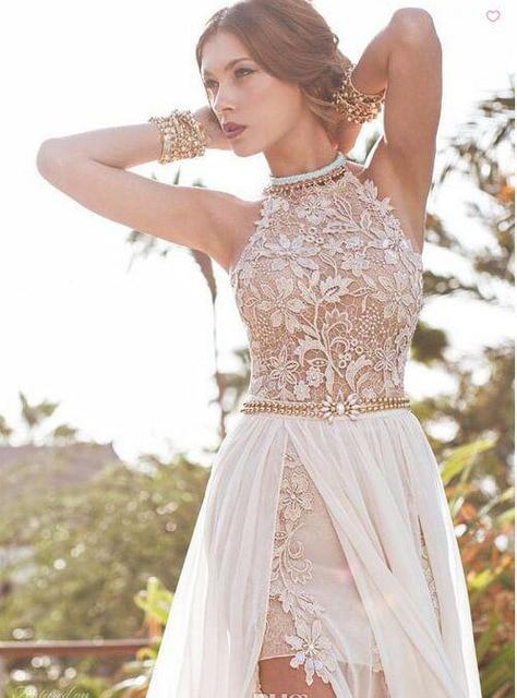 Vestidos de novia para playa baratos