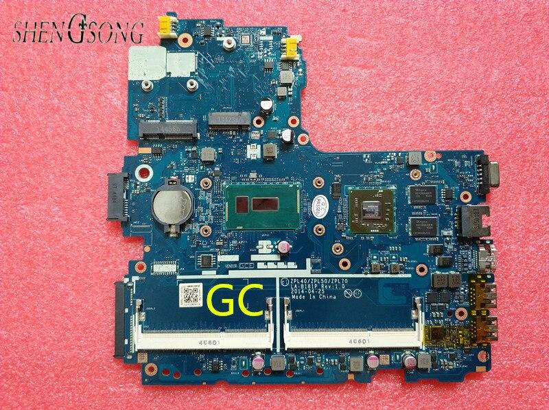 799560-001 799560-501 LA-B181P Laptop Motherboard for HP Probook 450 G2 440-G2 Mainboard 2GB i3-5010U G2 ZPL40 ZPL50 ZPL70