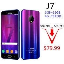 TEENO Vmobile J7 мобильного телефона Android 7,0 5,5 «HD Экран 3 GB + 32 GB Dual SIM карты 5800 mAh superbattery 4G celular смартфон сотовые телефоны