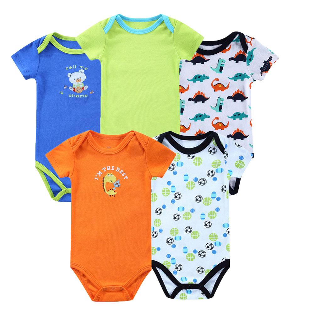 Baby-Bodysuits-Newborn-Ropa-Bebe-5pcs-lot-100-Cotton-Raccoon-Body-Babies-Boy-Girl-Boy-Baby-Bodysuits-0-12-Months-Baby-Clothes-5