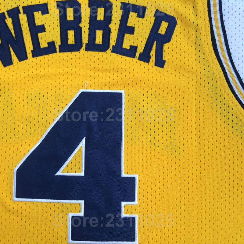 brand new 2e56e a4be2 coupon code for michigan wolverines 4 chirs webber white big ...