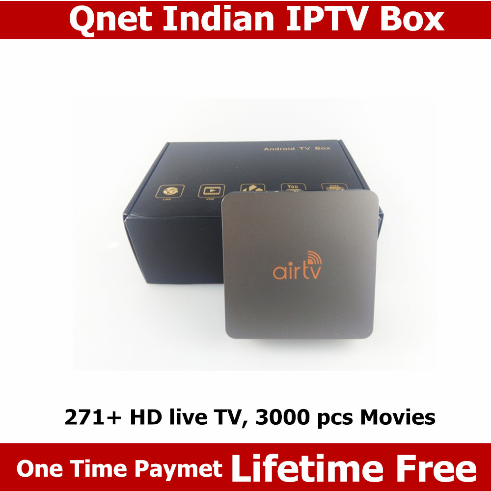 HD Indian IPTV box support 270 plus Live HD Indian ...