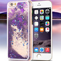 Dynamic Liquid Glitter Sand Quicksand Star Case For iphone 6s 6S PLUS 6/6 Plus/5/5S SE Crystal Clear Cellphone Back Cover