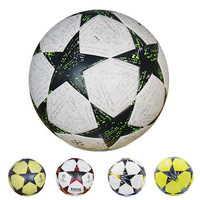 High Quality Champions League Official Size 5 Seamless Soccer ball Anti slip PU Sports Training Star Football For Youth