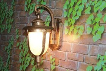 Balcony LED wall lamp european-style waterproof IP65 retro headboard LED corridor outdoor wall lamp courtyard aluminum 3W 6W 9W