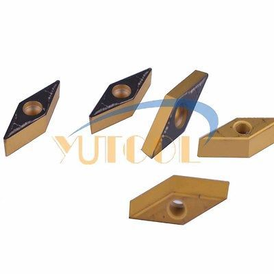 Купить с кэшбэком 50pcs Yutools Carbide Insert VBMT110304 MO CNC Milling carbide drill inserts New