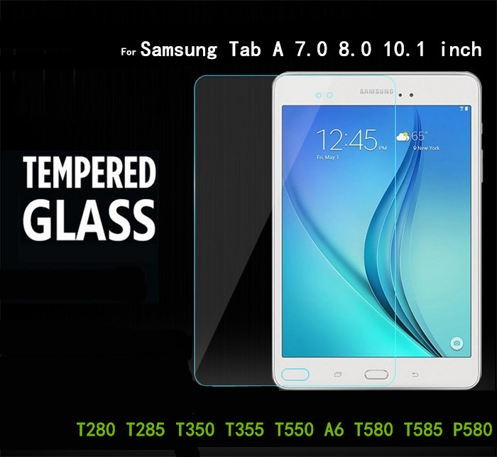 Tab A Glass Protector For Samsung Galaxy Tab A 7.0 8.0 9.7 A6 10.1 T280 T285 T350 T355 T550 T580 P580 Tablet Screen Protector