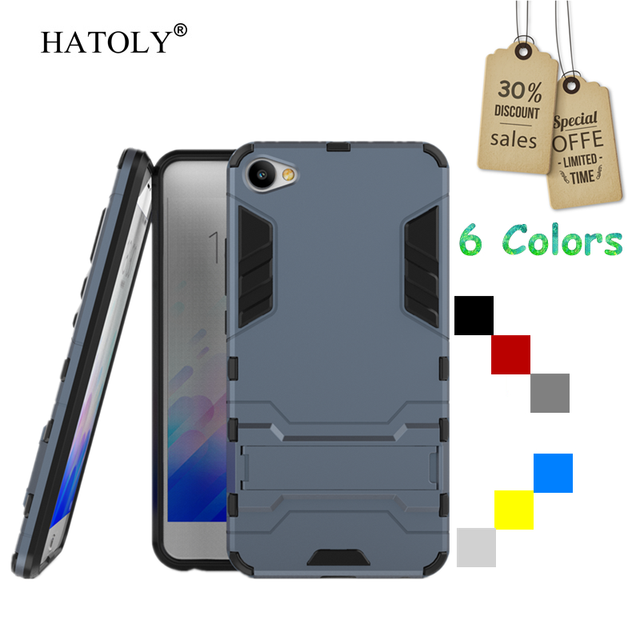 Cover Meizu M3X Case Rubber Robot Armor Protective Hard Back Phone Case for Meizu M3X Cover for Meizu M3X Case Meilan X HATOLY