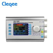 Cleqee JDS2600 15 MHz sterowanie cyfrowe dual channel funkcyjny DDS signal generator