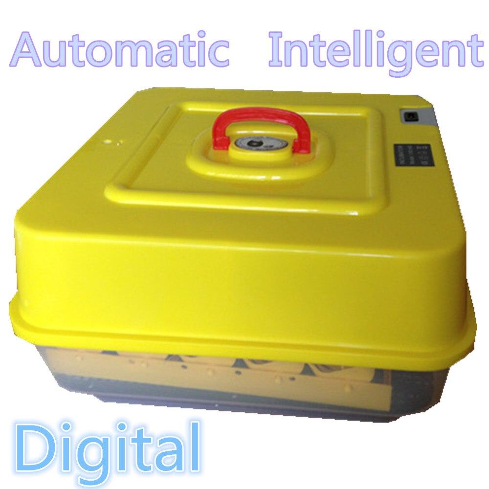 Automatyczne inteligentny cyfrowy jajko inkubator z regulator termostatyczny kurczaka kaczki gęsi drobiu gołębi ptaków przepiórki maszyna wylęgarnia nasiadka w Produkty do nawożenia i nawadniania od Dom i ogród na  Grupa 1