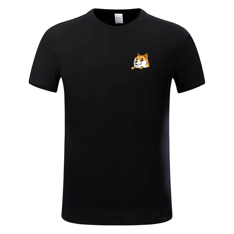 doge tee shirt homme de marque print t shirt 2017 fashion. Black Bedroom Furniture Sets. Home Design Ideas