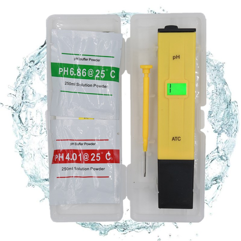 High quality Digital aquarium PH meter 0.1 accuracy portable Pocket tester waterproof with backlight 23% OFF