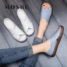 Summer Women's Flats Slip On Sandals Shoes