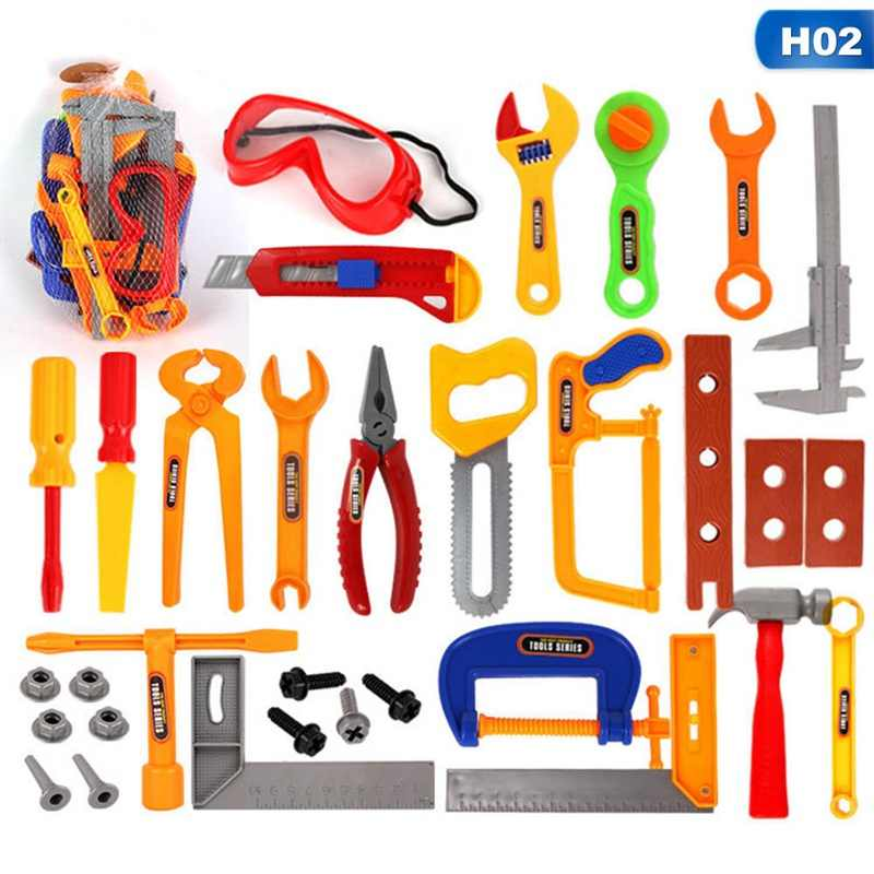 02423ce07 Detail Feedback Questions about Children's Toolbox Set Simulation Repair  Tool Drill Screwdriver Repair Kit House Play Toys Tool Set Puzzle Toy Set  For Kids ...