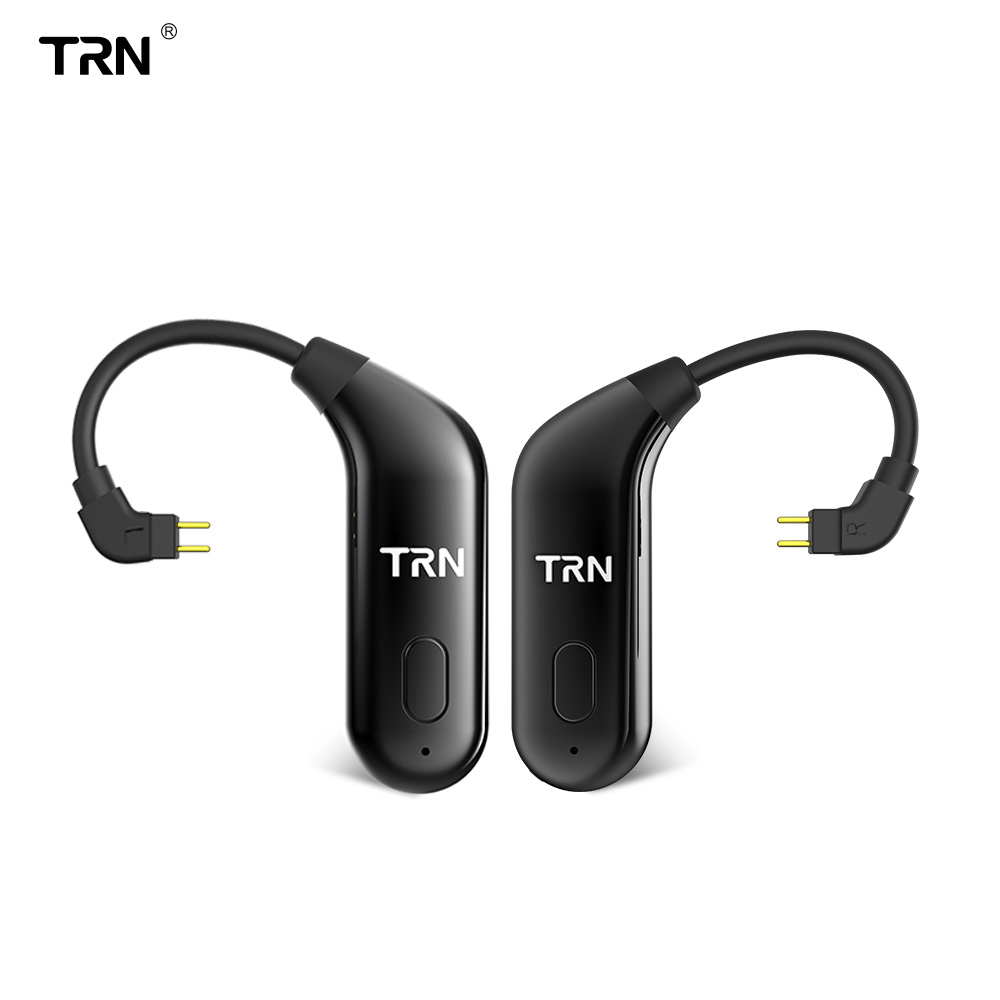 TRN BT20 Dual Wireless Bluetooth 5 0 Ear Hook Upgrade Eaphone Cable 2PIN MMCX Use For