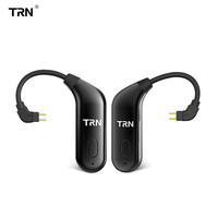 TRN BT20 Dual Wireless Bluetooth 5.0 Ear Hook Upgrade Eaphone Cable 2PIN/MMCX Use For V20 V60 V80 Yinyoo HQ6 HQ8 KZ AS10/ZS10