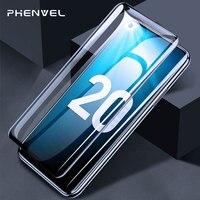 Vidrio OLEOFÓBICO para huawei honor 20 Protector de pantalla cubierta completa vidrio templado honor View 20 vidrio curvado 5D