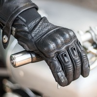 Revit bomber in vera pelle breve guanti moto motocross pugno guanti moto guanto di protezione del motociclista off-road guanti