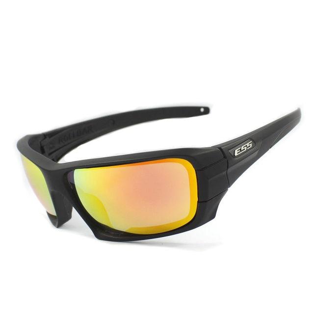 ffd0619fd4 ESS Rollbar Terrian Ballistic Sunglasses Polarized 4 Lenses Military  Goggles Men s Eyewear Shooting Sunglasses Black Khaki. Price