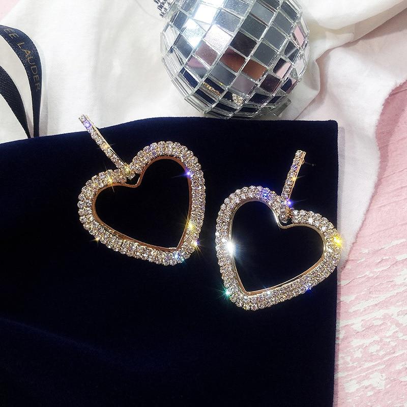 LUBOV-Fashion-Korean-Style-Big-Heart-Hoop-Earrings-Luxury-Gold-Silver-Color-Rhinestone-Earring-Women-Party