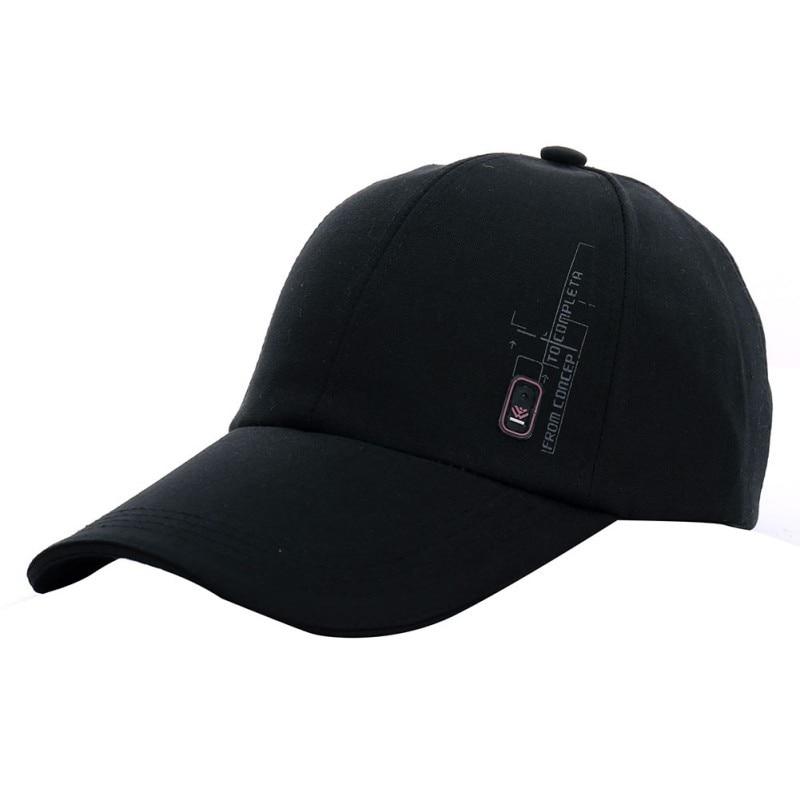 Mens Baseball Golf Hip-hop Bowler Cap Adjustable Outdoor Sports Sun Hat 6 Colors