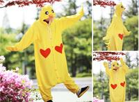 Animal Costume Cosplay Adult Pyjamas JP Animal Pink Blue Yellow Chihuahua Frog Chicken Cow Cattle Pajamas