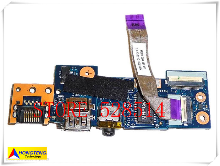 original for HP ENVY TouchSmart M6-K M6-K125dx audio usb board PN LS-9313P 100% Test ok original for hp touchsmart 23 all in one pc motherboard pn 732130 002 ipshb la 100% test ok