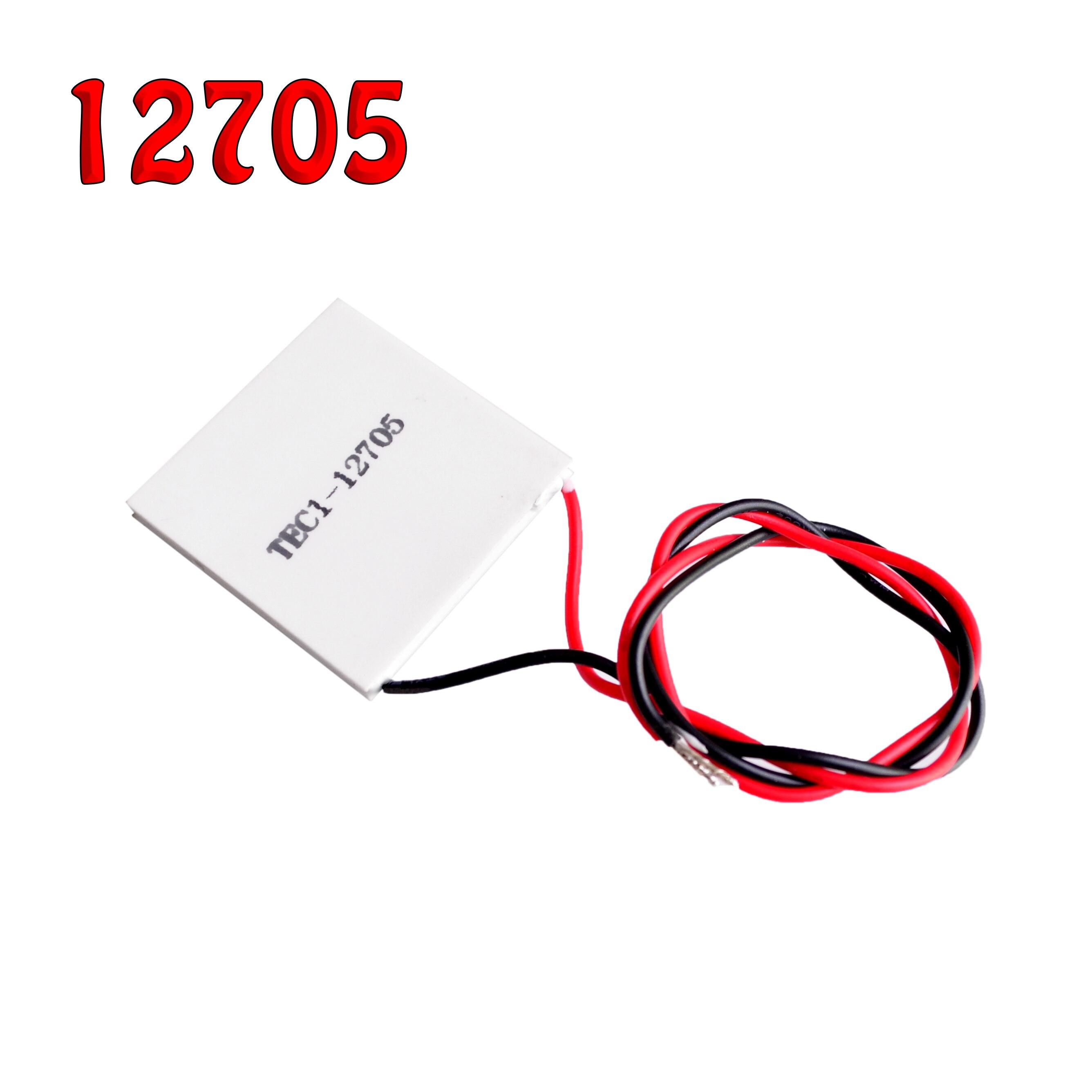 Disipador térmico Thermoelectric Cooler refrigeración Peltier TEC1-12710 Placa Módulo 40*40MM