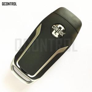 Image 3 - QCONTROL Verbesserte Remote Key Fit für Ford OUCD6000022 315 MHz Escape Focus C max Transit Connect HU101 Klinge
