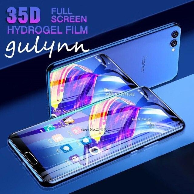 For Huawei Nova 3E 3i 4E P 30 20 Soft TPU Front Back Full Cover Screen Protector Clear Hydrogel Film For Honor 20 i 10 Lite Pro