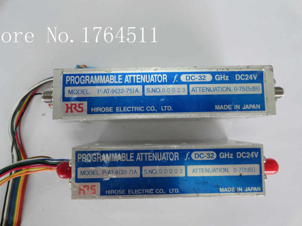 [BELLA] The Programmable Step Attenuator Of HRS P-AT-8 (32-7) A 0-7dB DC-32GHz 24V
