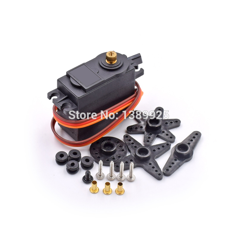 MG995 360 Degree Continuous Rotation Metal Gear Digital Servo With Accessories,High Torque,For Robot Arm,robot DIY