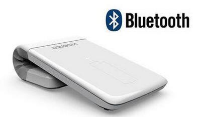 Micro génie ultra-mince rechargeable sans fil souris et Bluetooth tactile pliant 2.4G laser souris/entreprise blanc utilisation ordinateur portable