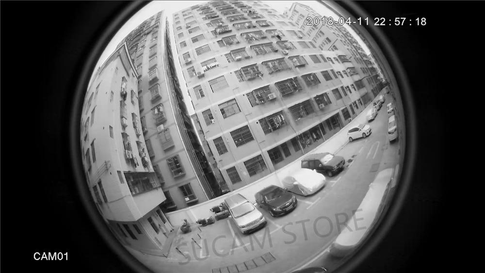 360 degree camera night time