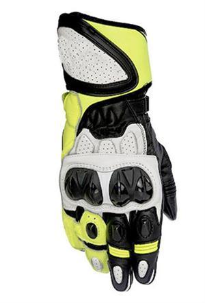 Racing GP Plus R Mens Leather Gloves Road Sport Track Bike Star Motorcycle Gloves чехлы на сиденье autoprofi r 1 sport plus black r 902p bk