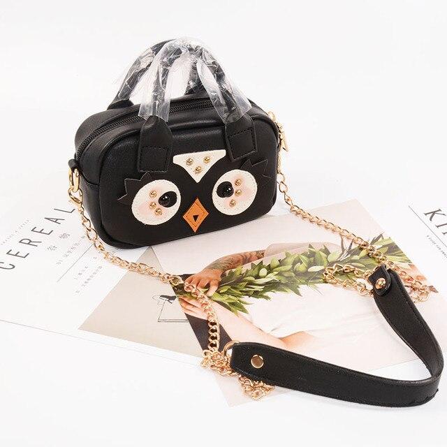 Women mini satchel bag cartoon cute purses and handbags Kid girls shoulder bags  female messenger bag Chain Clutch Bags 1f415220e