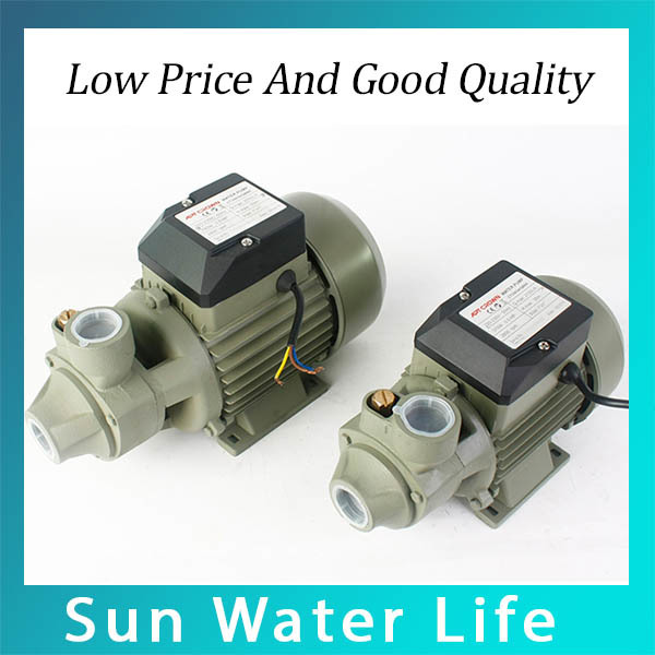 9.19 NEW 1600L/H Cast Iron Circulating Pump Home Booster Water Pump QB-60