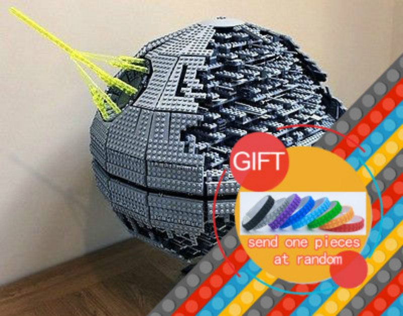 05026 3449pcs Star Space Series wars Death Star The second generation war Building Blocks Compatible with 10143 Gifts Toys lepin rollercoasters the war of the worlds