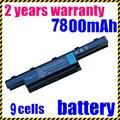 Jigu 7750g bateria de 9 células para acer aspire 4741 7750g 5742 5745g as10d31 as10d51 as10d71 as10d75 as10d81 5750 as10d75 bateria