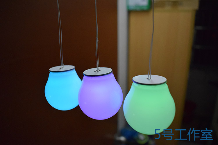 51 single-chip DIY design electronic kit: colorful RGBLED Aurora cubic atmosphere chandelier parts цена и фото