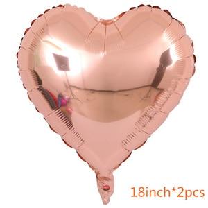 Image 5 - Gihoo 16 polegada eid mubarak balões ramadan decoração rosa ouro eid balões para muçulmano feliz festa decorações confetes balão