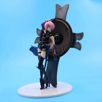 Fate/Grand Order Mash Kyrielight 25cm action anime model figure collection 1/7 scale painted toy doll gift PVC